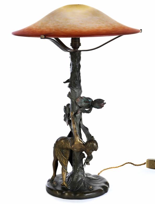 Jugendstil-Tischlampe