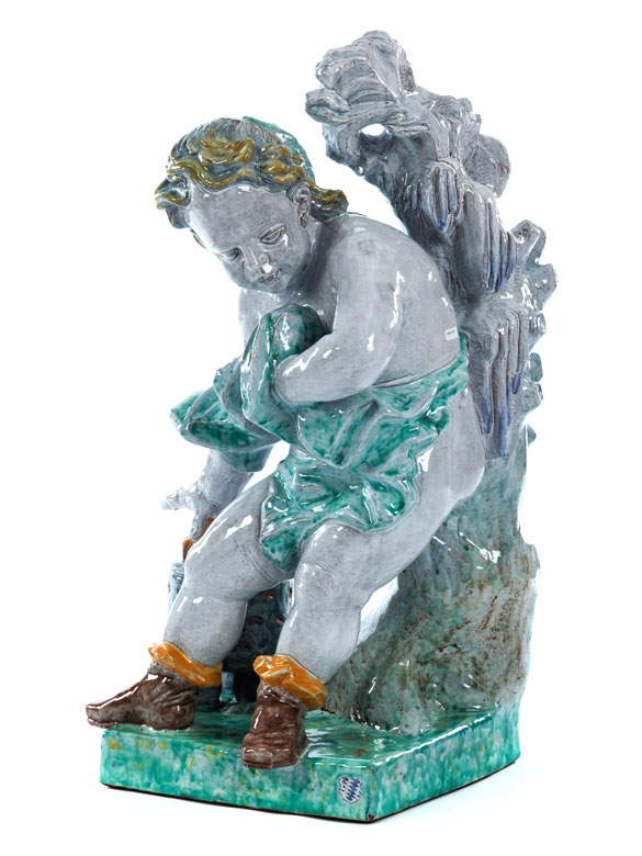 "Nymphenburger Gartenfigur ""Winter"""