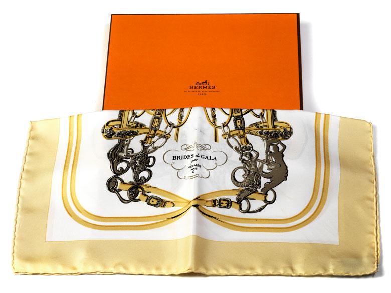 "Hermès Seidentuch ""Bridges de Gala"""
