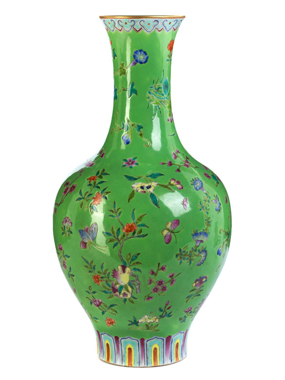 Famille Rose-Vase