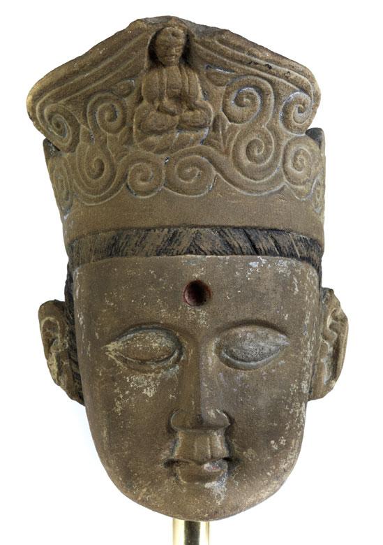 Kopf einer Kuan Yin