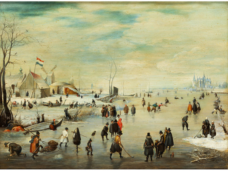 Hendrick Avercamp, 1585 Amsterdam - 1634 Kampen, Nachfolge/ Art des