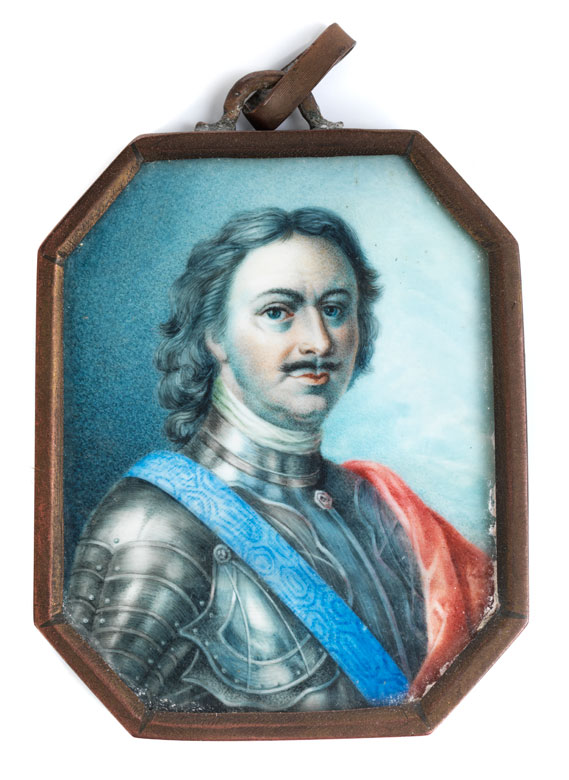 Miniatur Peter der Große
