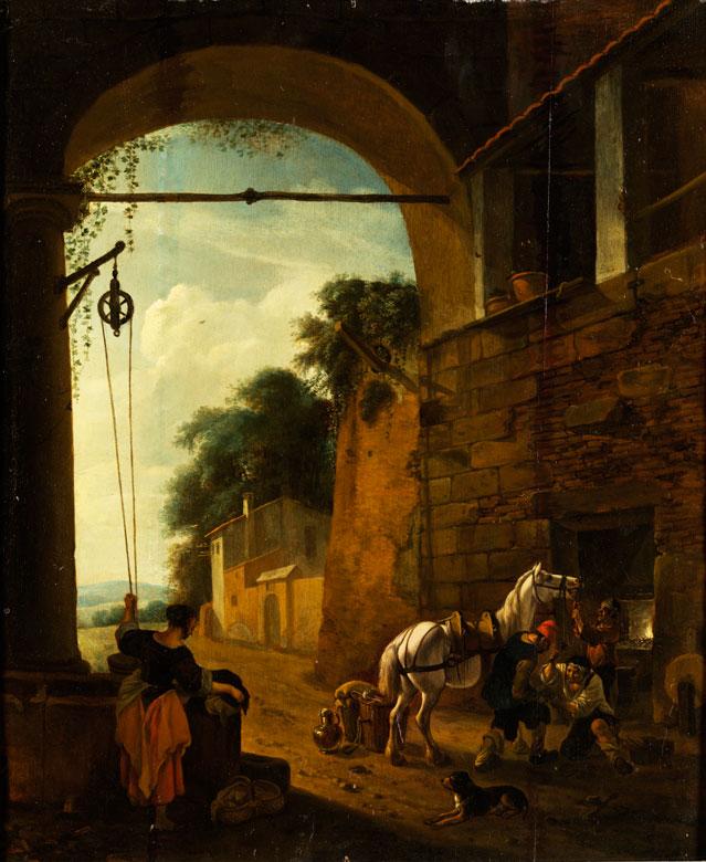 Jan Asselyn, ca. 1610 Dieppe - 1652 Amsterdam