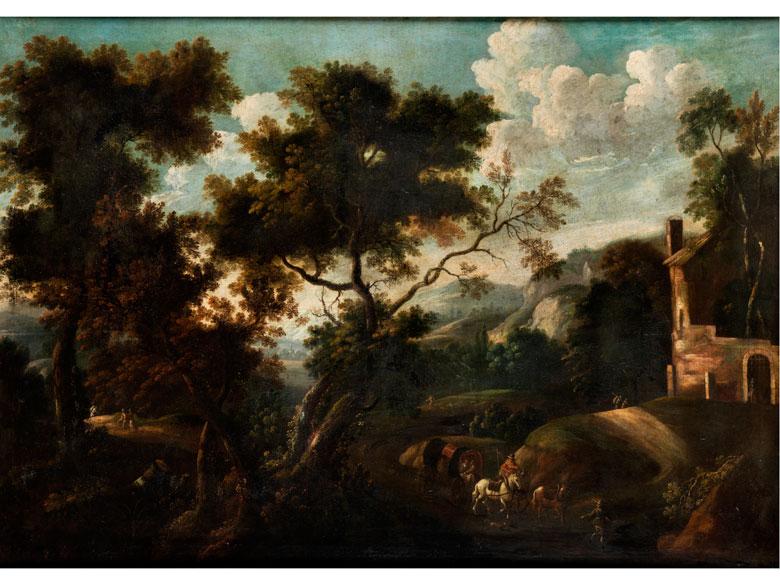 Deutscher Maler aus dem Kreis um Joachim Franz Beich (1665 - 1748) oder Josef Faistenberger (1675 - 1724)