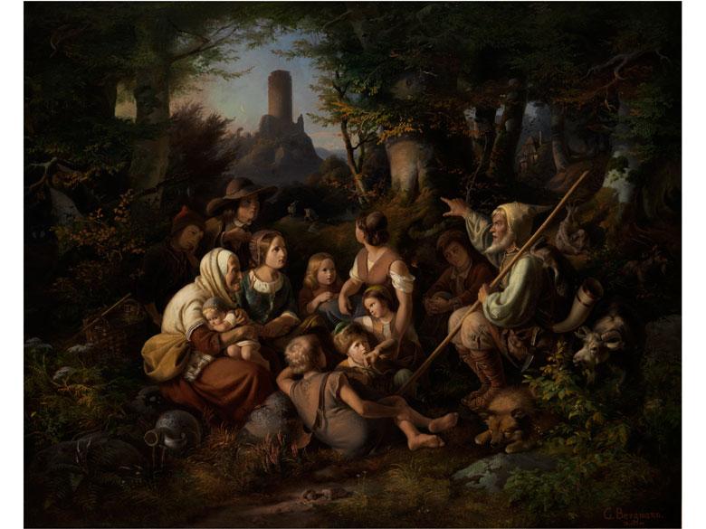 Georg Bergmann, 1819 Zelle - 1870 Hildesheim