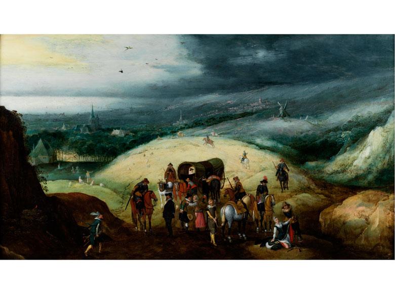 Joos de Momper der Jüngere, 1564 Antwerpen - 1635 ebenda