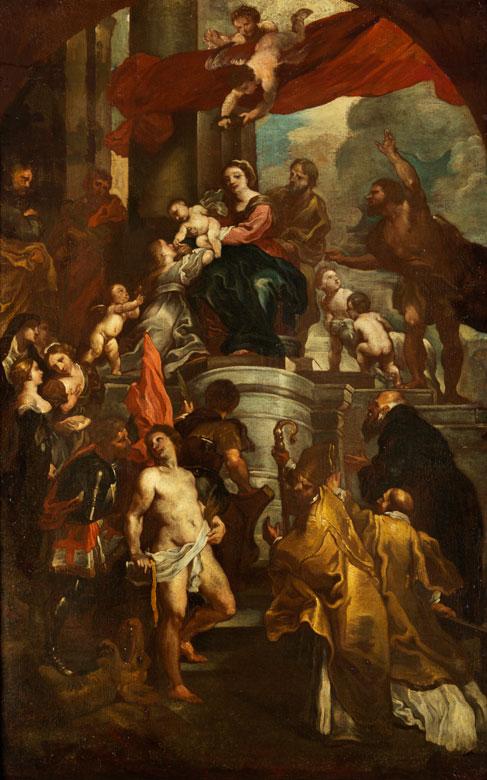 Willem Panneels, 1600 Antwerpen - nach 1640 Straßburg