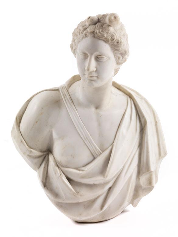 Klassizistische Büste eines jugendlichen Dionysos