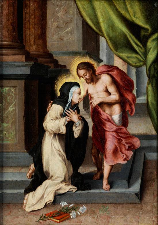 Maler der Sieneser Schule Ende des 16./ Anfang des 17. Jahrhunderts