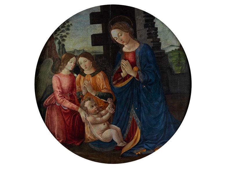 Maestro dell'Epifania di Fiesole, aktiv in Florenz, zweite Hälfte 15. Jahrhundert