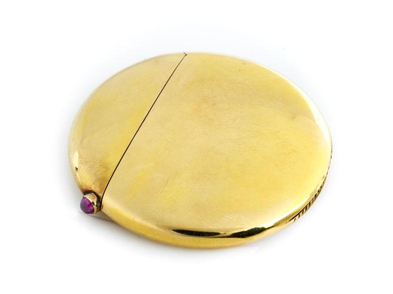 Streichholzdöschen von Fabergé