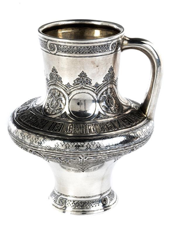 Silberner Moskauer Krug