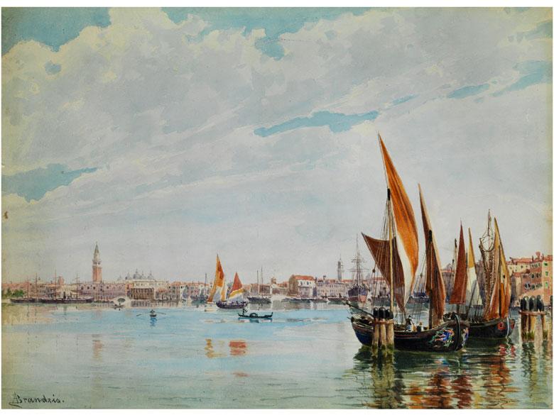 Antonietta Brandeis, 1849 Miskovitz - 1920 Venedig