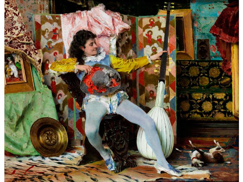 Francesco Vinea, 1845 Forli - 1902 Florenz