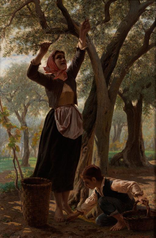 Luigi Bechi, 1830 Florenz - 1919 ebenda
