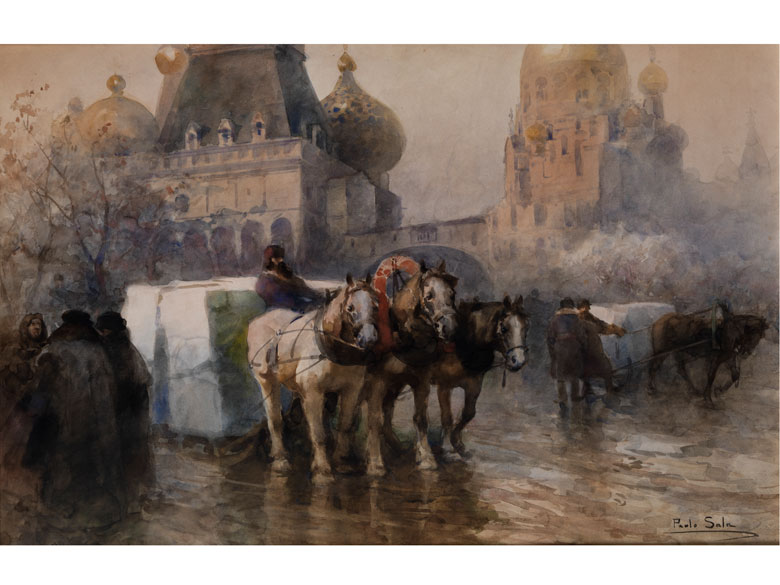 Paolo Sala, 1859 Mailand - 1924 ebenda