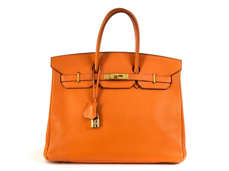 """Hermès Birkin-Bag 35 cm """"Orange"""""""
