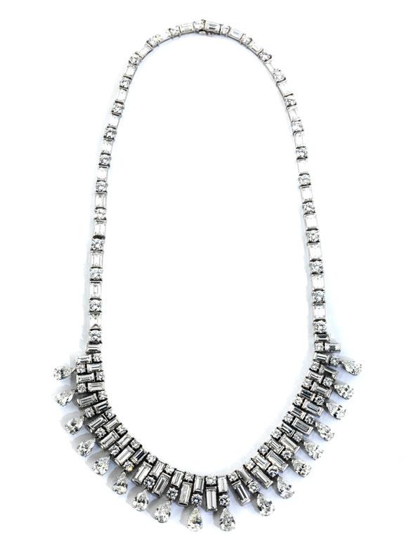 Feines Diamantcollier