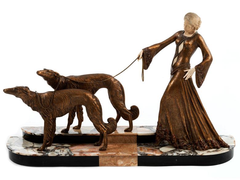 Georges Gori, französischer Bildhauer des Art déco