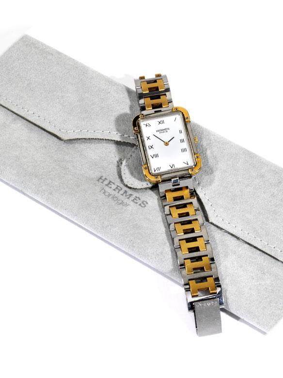 "Hermès-Armbanduhr ""Croisère"""