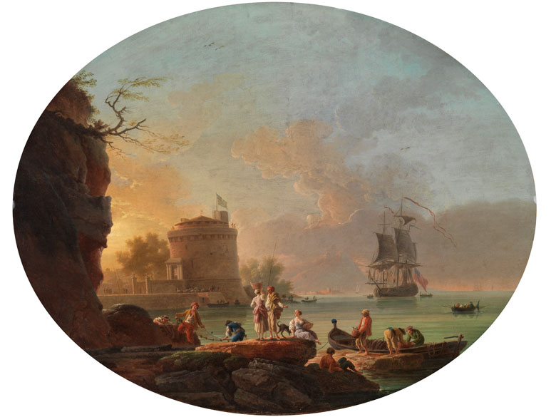 Claude Joseph Vernet, 1714 Avignon - 1789 Paris, und Werkstatt