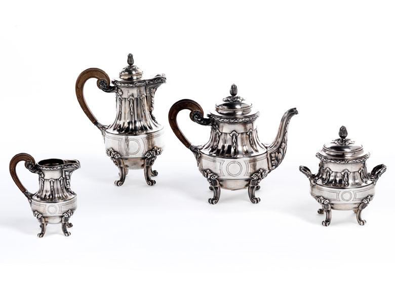Tee- und Kaffeeset von Cartier