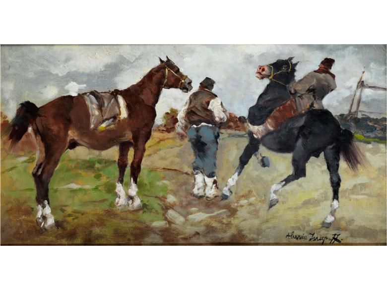 Alessio Issupoff, 1889 Vjatka - 1957 Rom