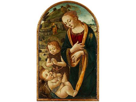 Florentinischer Meister in der Nachfolge von Filippo Lippi, 1406 - 1469