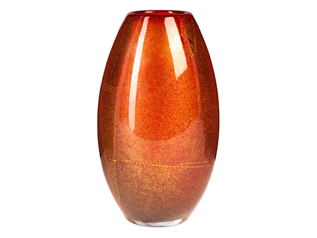Venini-Vase, Carlo Scarpa (1906 - 1978), zug.
