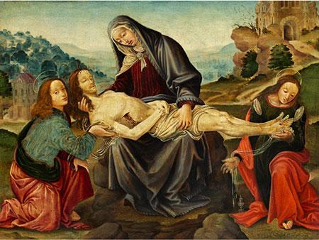 Raffaello de'Carli del Garbo, um 1479 Barberino Val d'Elsa - um 1524 Florenz, Schüler des Filippino Lippi (um 1457 - 1504)