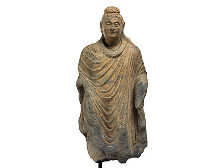 † Indische Buddhafigur