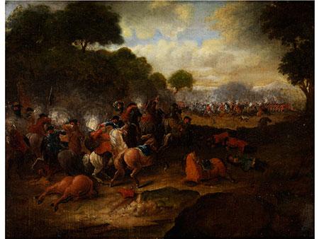 Jan van Huchtenburgh, 1647 - 1733, zug.