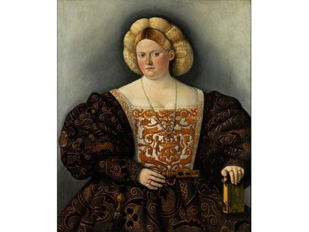 Bernardino Licinio, um 1489 Venedig - 1565, zug.