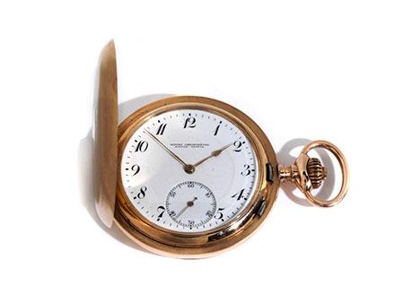 Goldene Taschenuhr von ALPINA