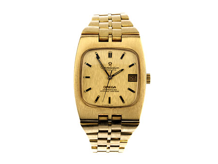 OMEGA Constellation in Gold mit Goldarmband