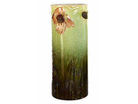 Keramik-Jugendstil-Schirmständer