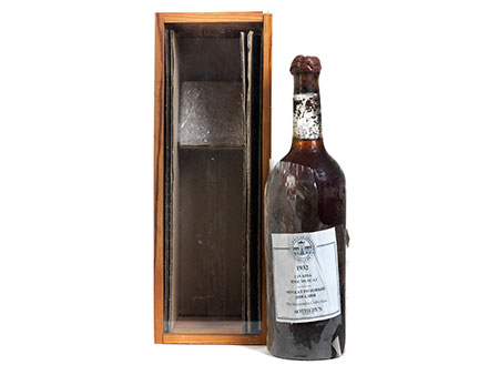 Flasche Livadia Rosé Muscat The Massandra Collection, 1932