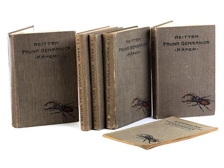 Edmund Reitter, Fauna Germanica, Die Käfer des Deutschen Reiches