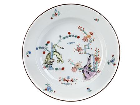 Meißener Teller aus der Königlichen Hofwirtschaft