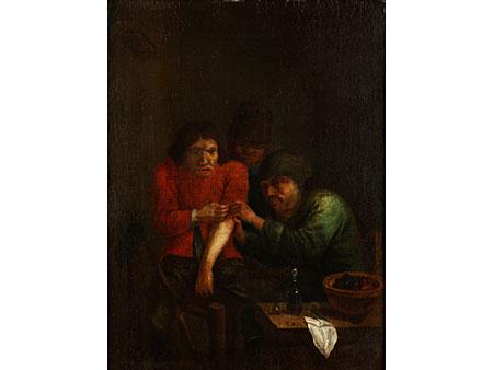 Adriaen Brouwer, 1605 Oudenaarde - 1638 Antwerpen, nach