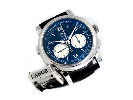 Detail images:  A. LANGE & SÖHNE Double Split Chronograph mit Flyback-Funktion