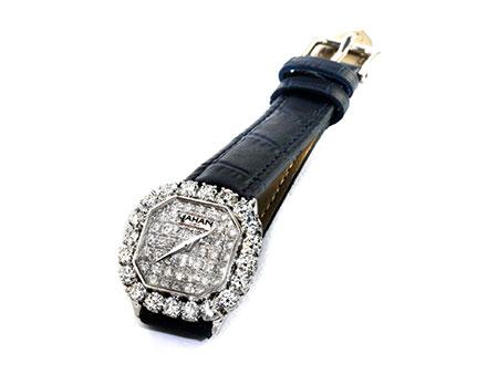 """Detail images:  Diamantuhr von """"Princess de JAHAN"""""""