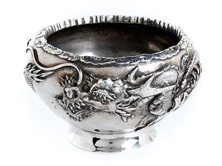 Chinesische Silberschale