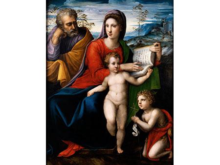 Bartolomeo Neroni, Il Riccio, um 1500 - um 1571, nachgewiesen in Siena zwischen 1532 und 1571