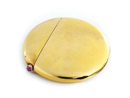 Detail images:  Streichholzdöschen von Fabergé