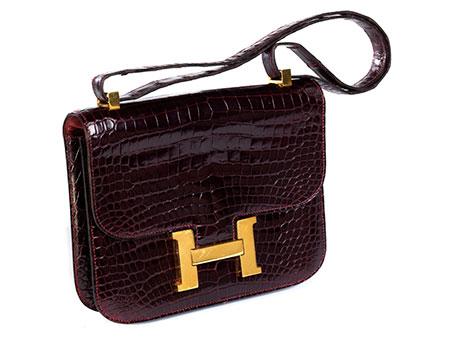 "Hermès Constance ""Kroko"""