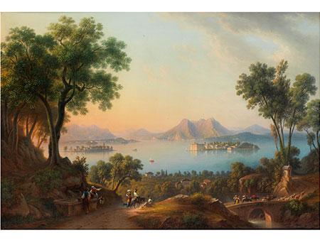 Wohl Schweizer Maler des 19. Jahrhunderts