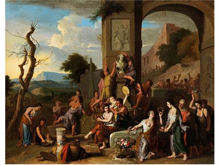Gerard Hoet, 1648 Bommel - 1733 Den Haag