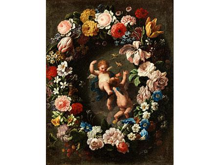 Giovanni Stanchi, 1608 Rom - 1673, und Carlo Maratti, 1625 Camerano - 1713 Rom, zug.
